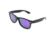 Fultons - Plutos: Matte Black / Mirrored Purple Polarized