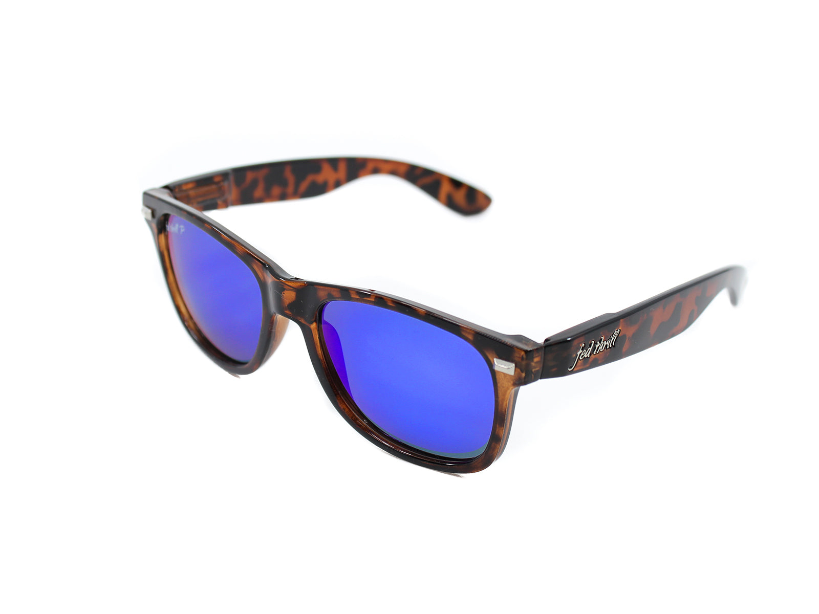 Fultons - Beachfronts: Glossy Tortoise / Mirrored Blue Polarized
