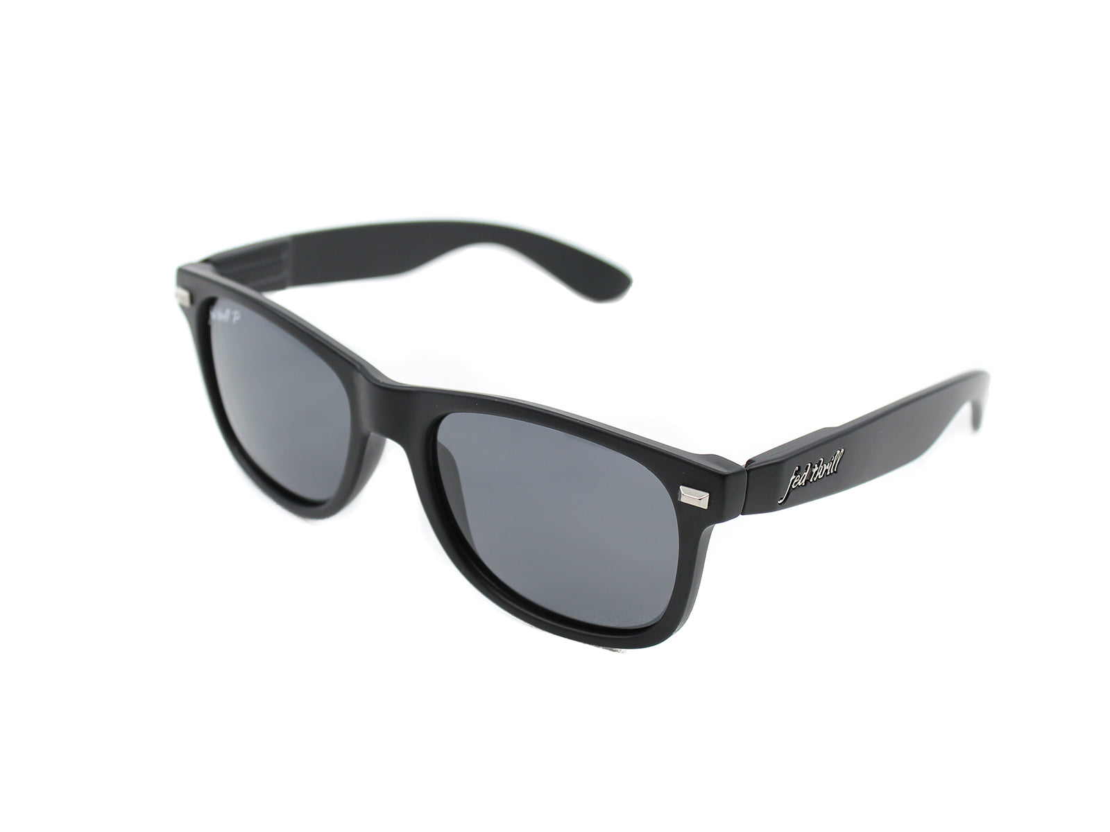 26eb63f90fd Fultons - Black Ops  Matte Black   Smoke Polarized – Fed Thrill ...