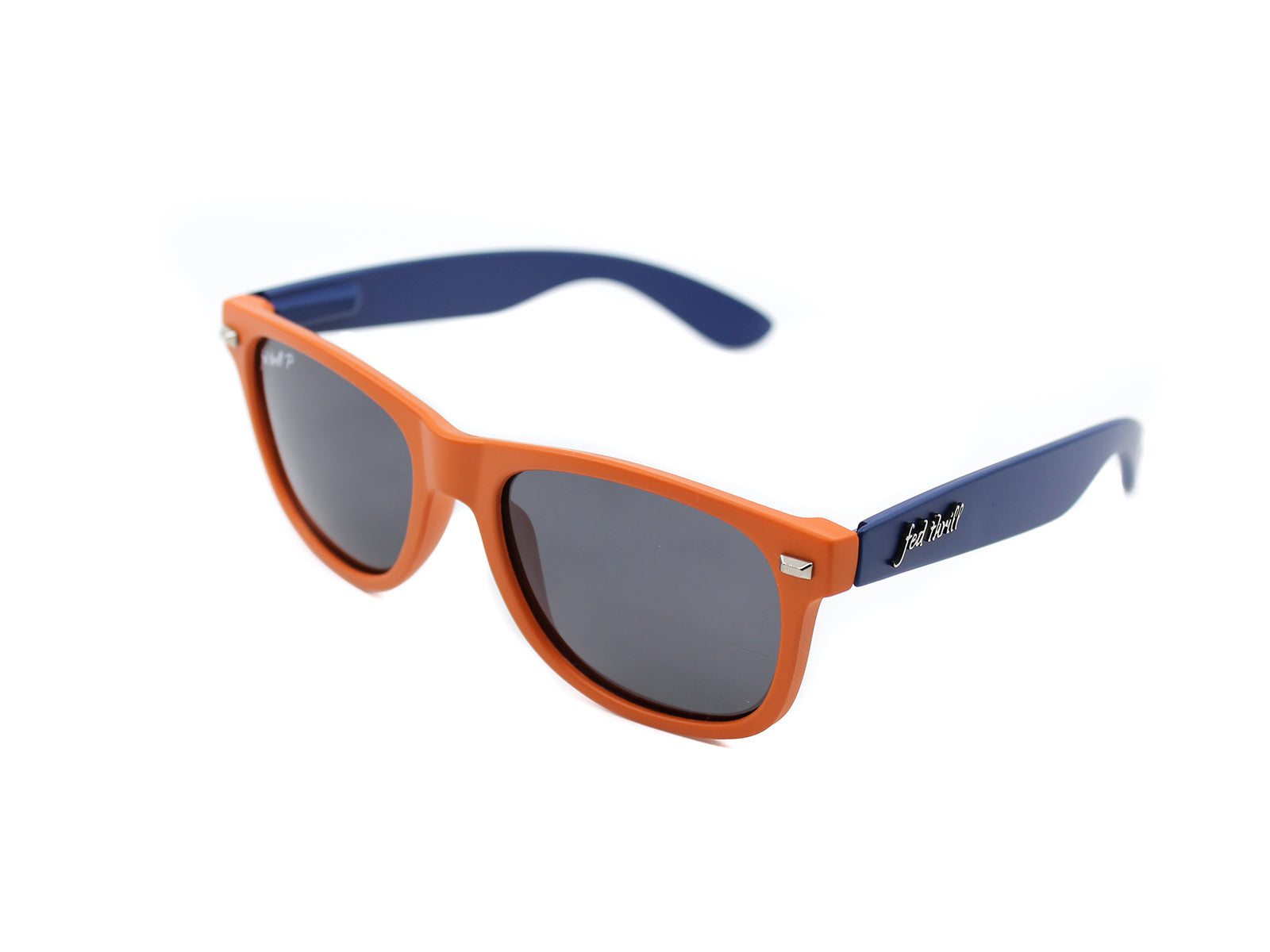 Fultons - Wahoowas: Matte Blue / Orange / Smoke Polarized