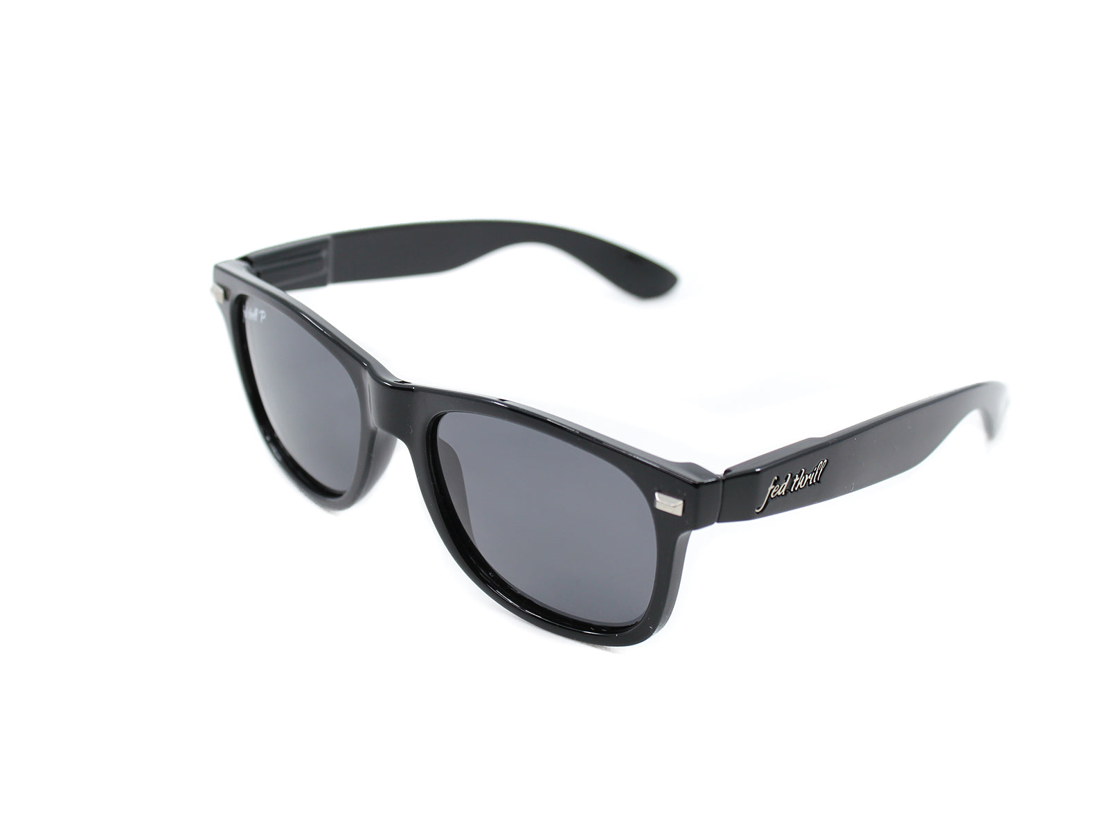 Fultons - Midnight Ops P: Glossy Black / Smoke Polarized