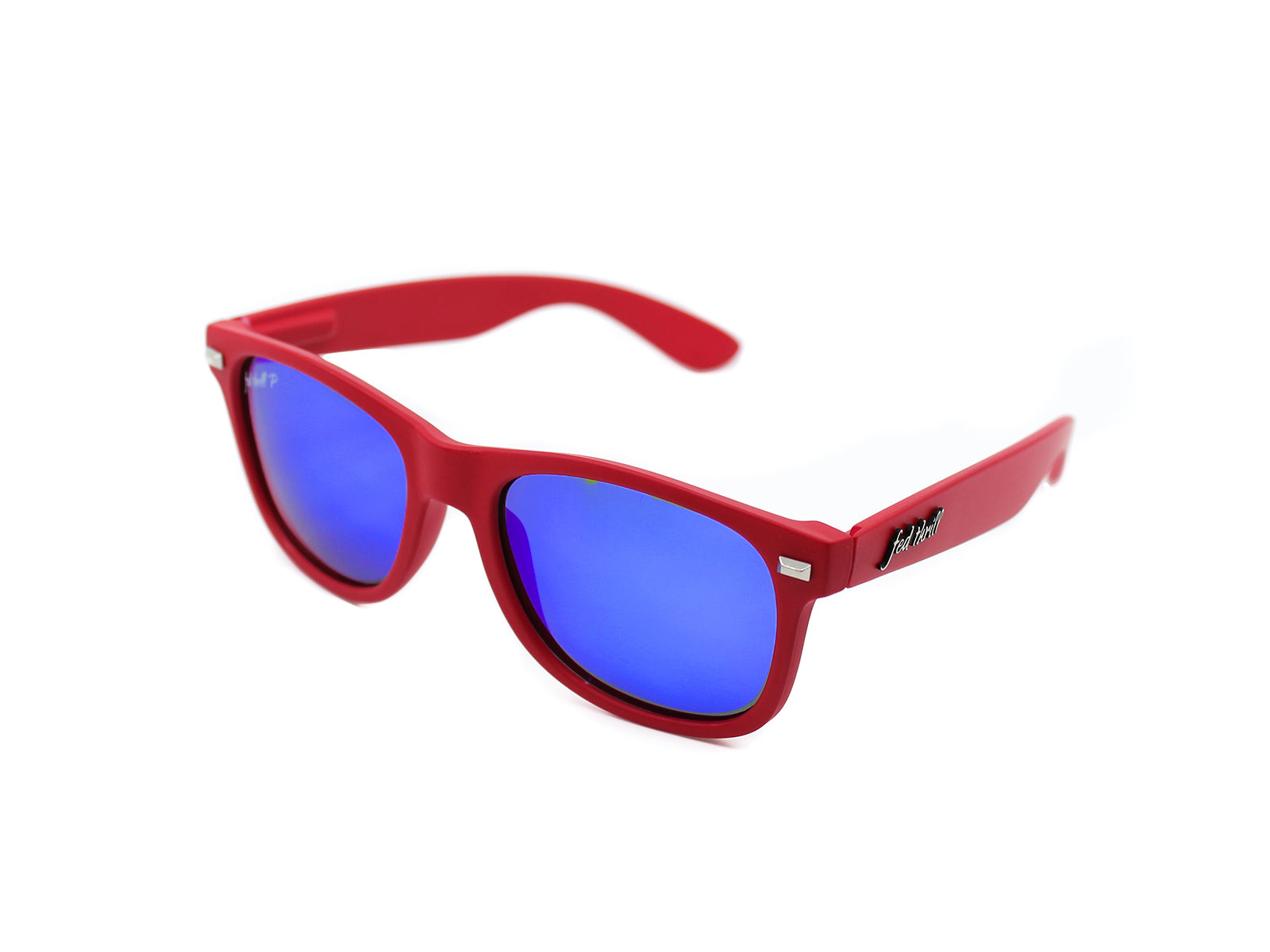 Fultons - Calverts: Red / Mirrored Blue Polarized