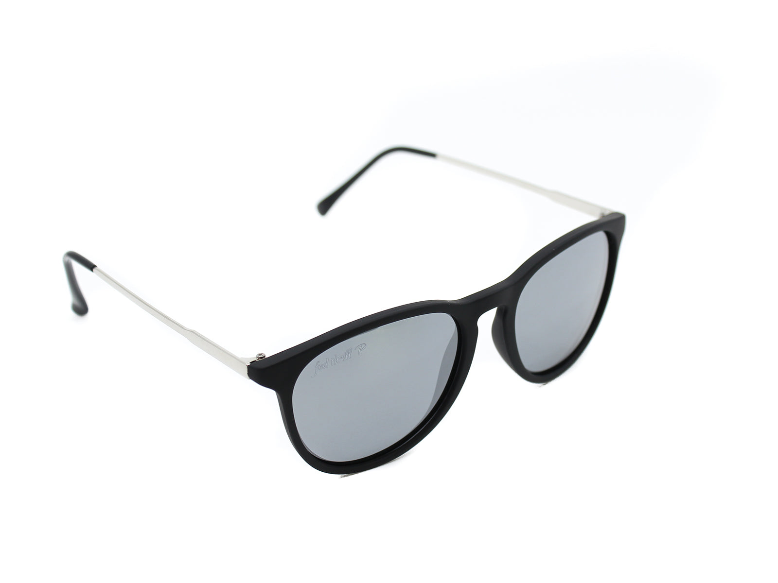 Porters - Covert Seals: Black / Mirrored Smoke Polarized