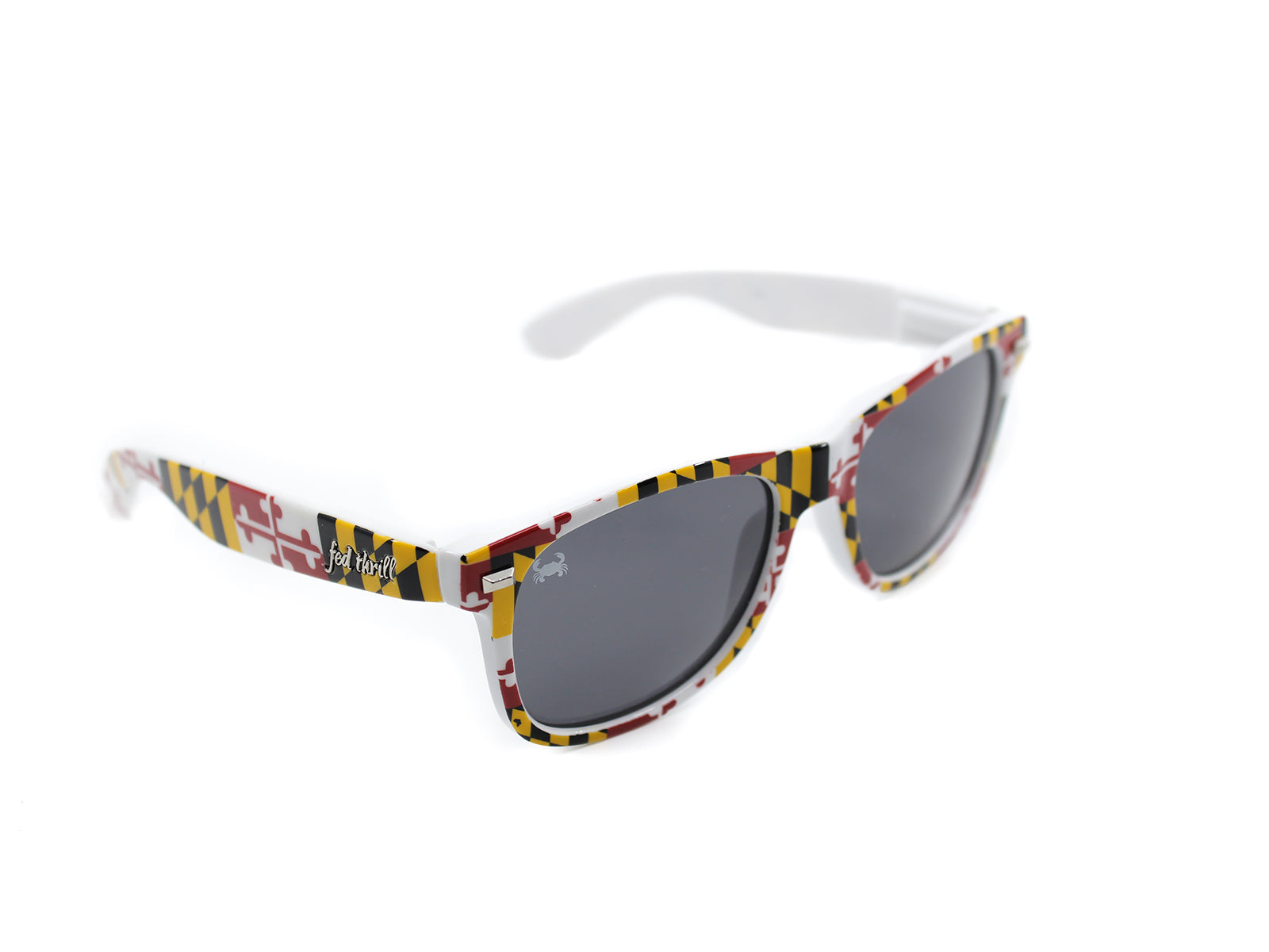 Fultons - Marylands: Glossy Maryland Flag / Smoke Polarized w/Crab