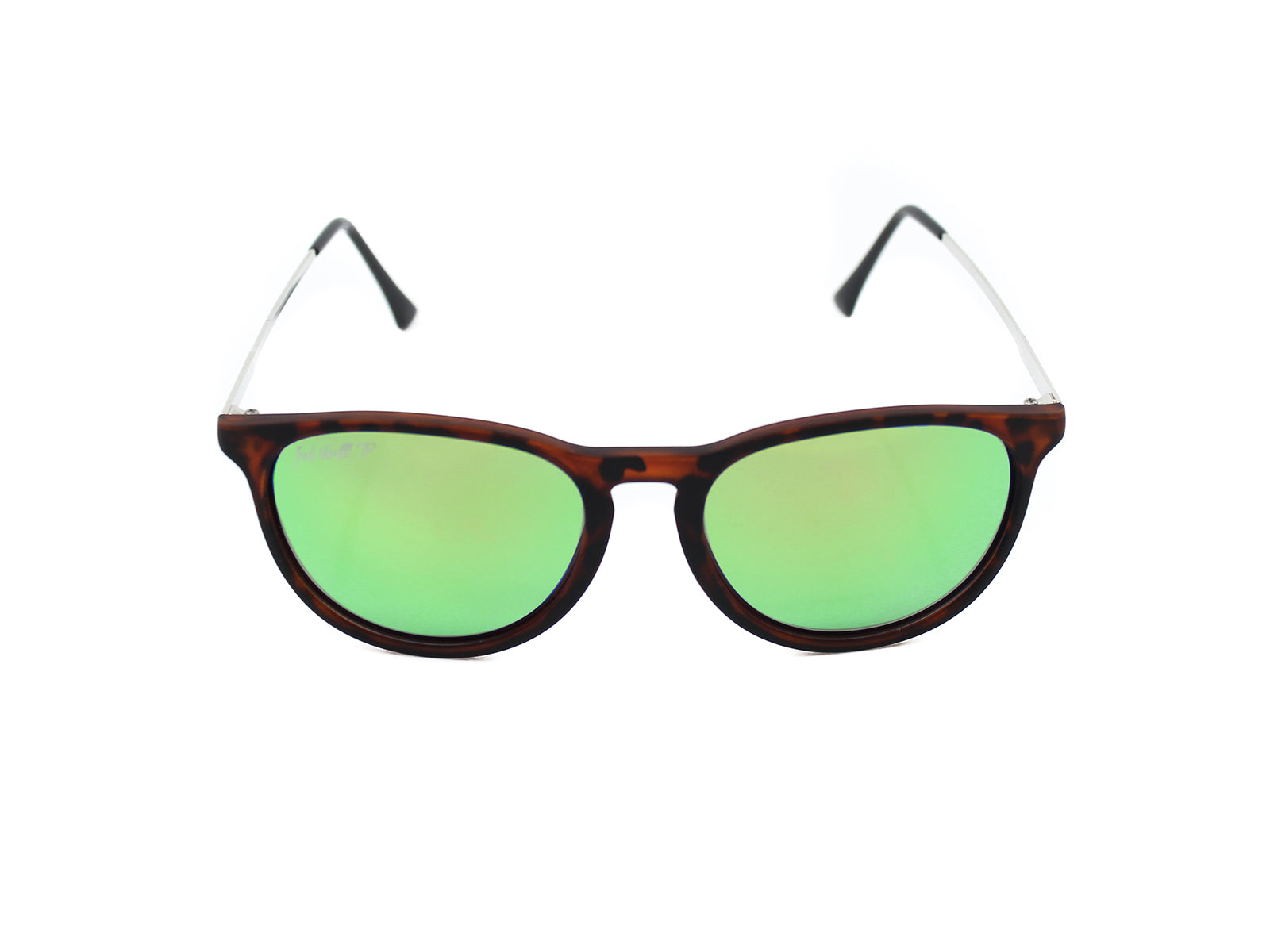 Porters - Harbors: Tortoise/ Mirrored Green Polarized