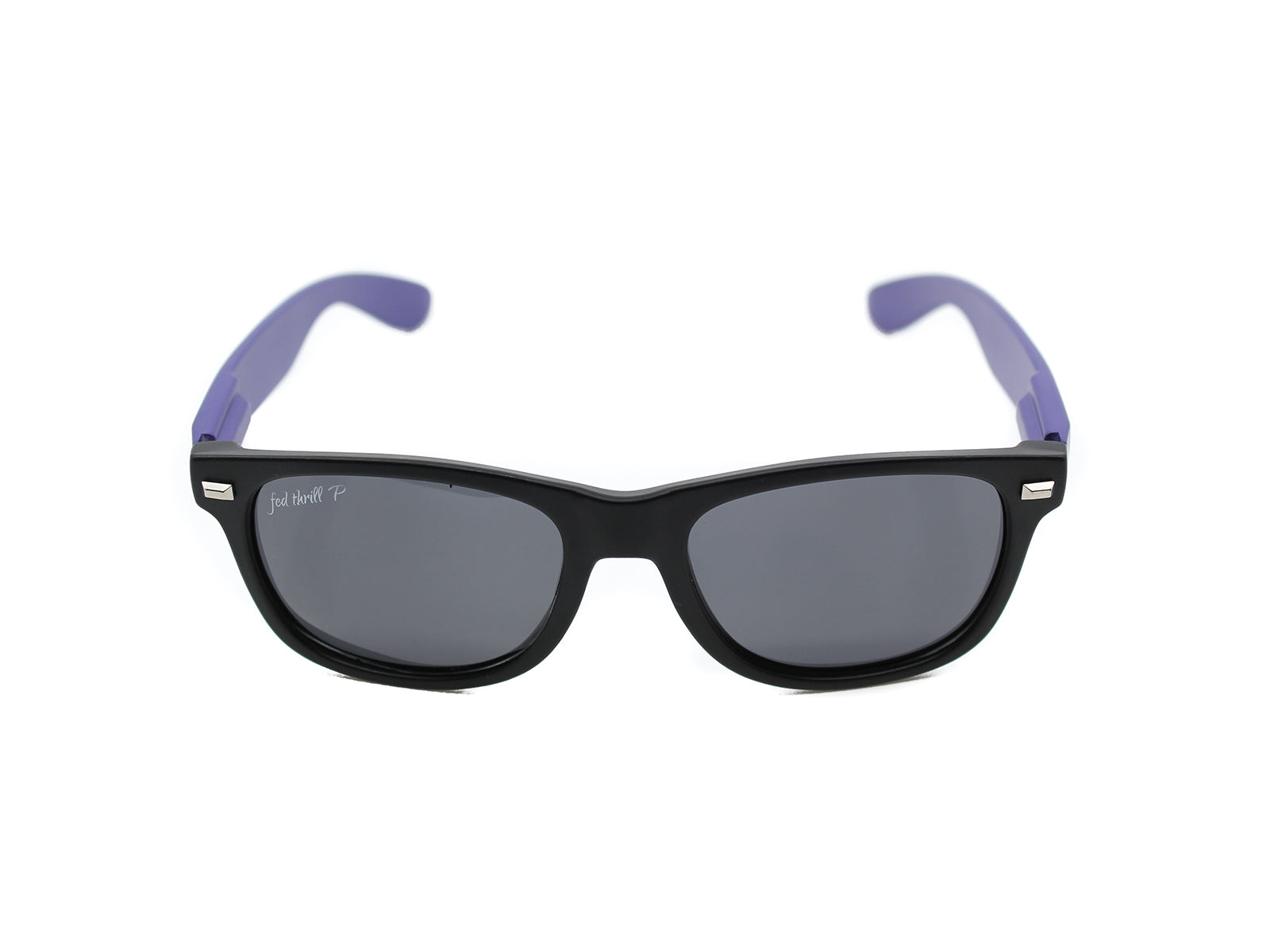 Fultons - Jupiters: Matte Black / Purple / Smoke Polarized