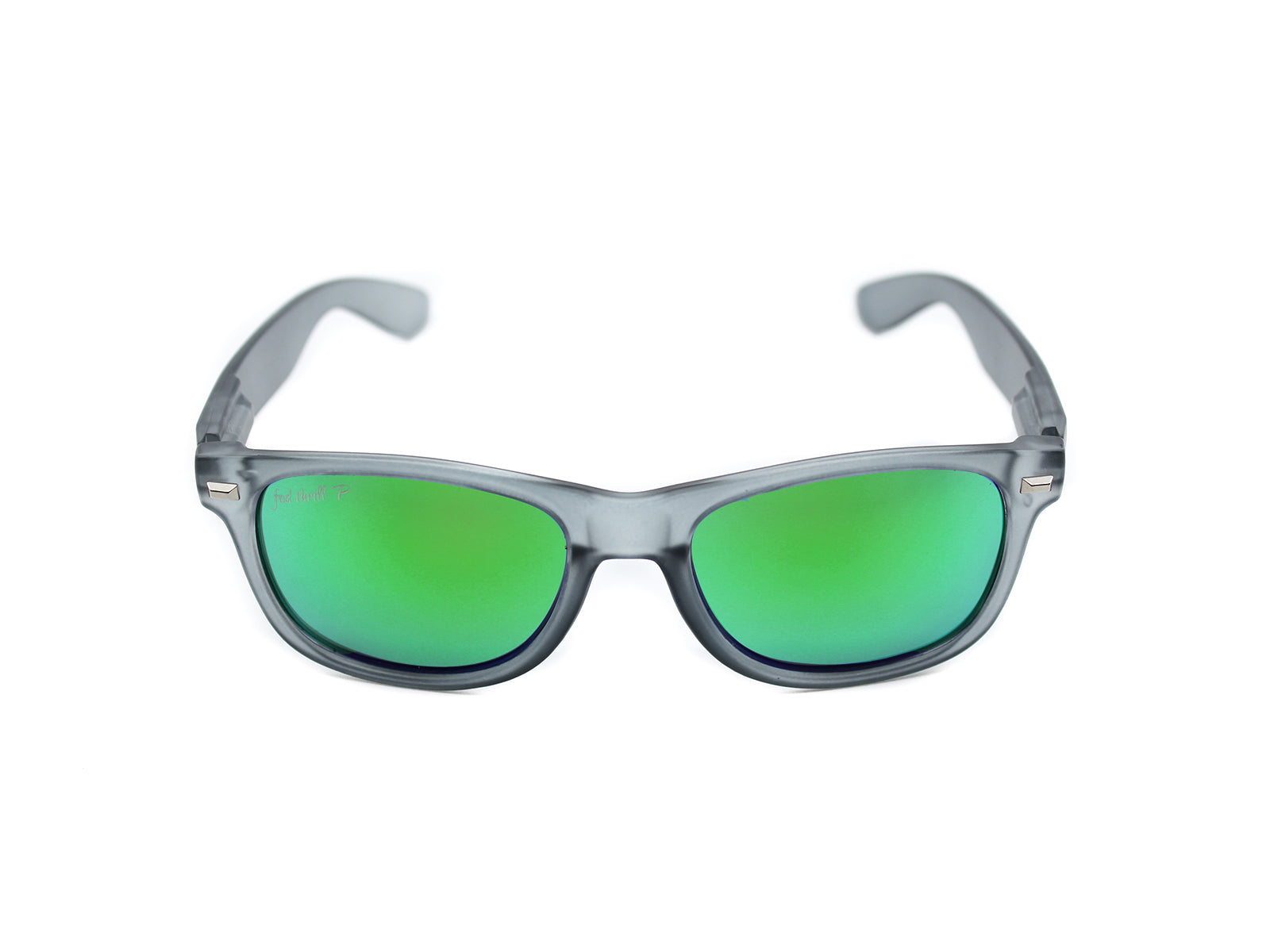 Fultons - Mosses: Frosted Gray / Mirrored Green Polarized