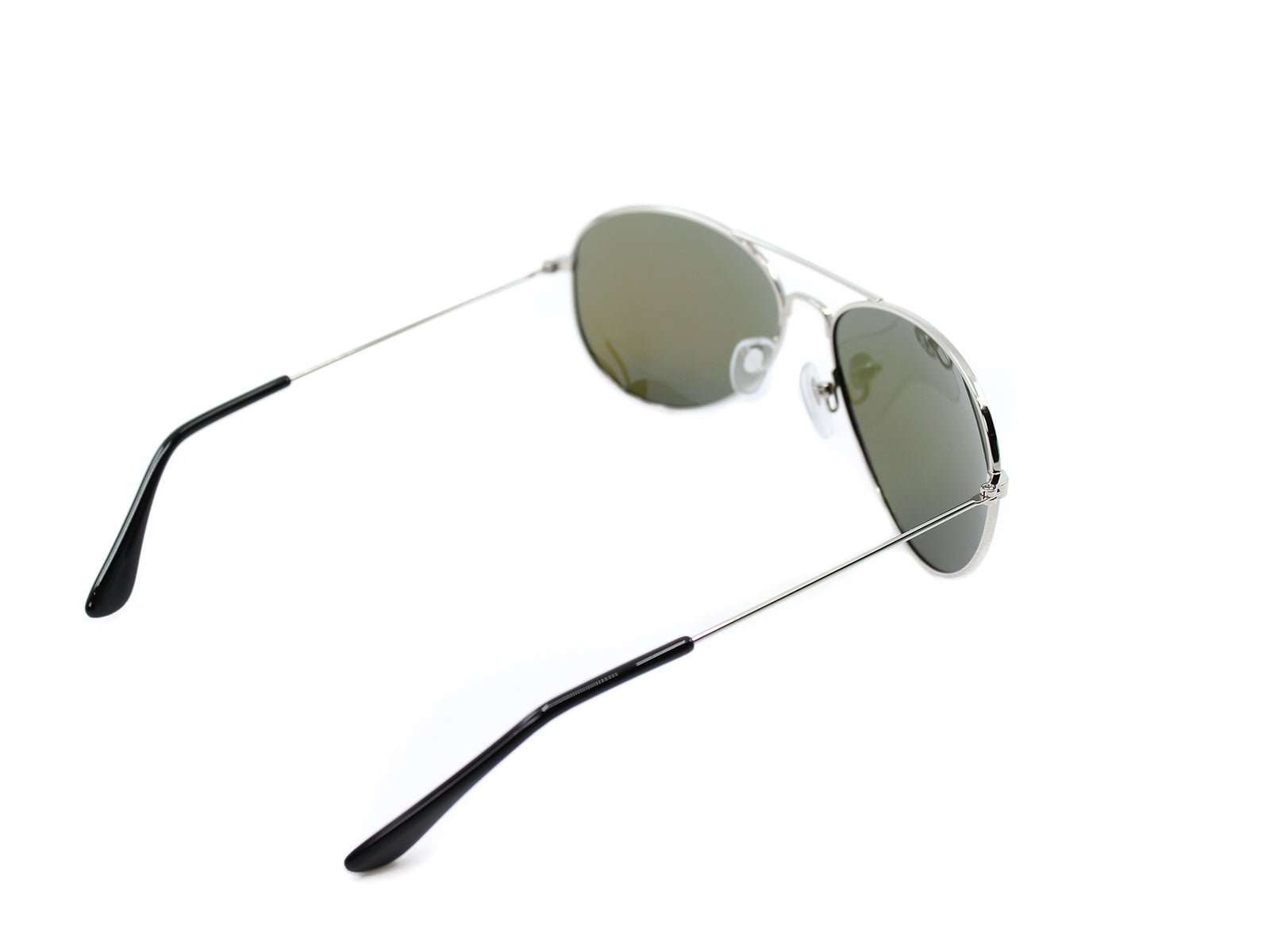 Mavericks - Tides: Silver / Mirrored Blue Polarized