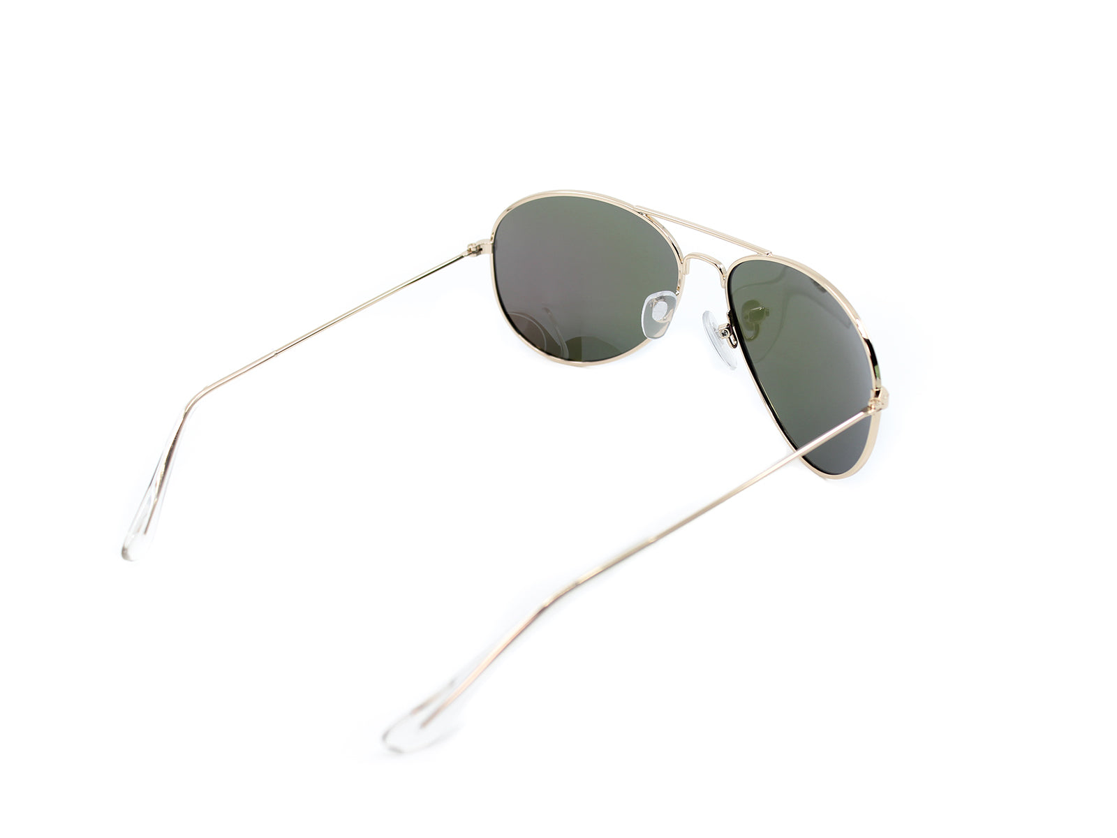 Mavericks - Limes: Gold / Mirrored Green Polarized