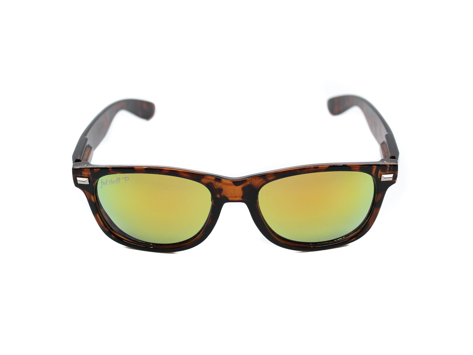 Fultons - Lowtides: Glossy Tortoise / Mirrored Orange Polarized