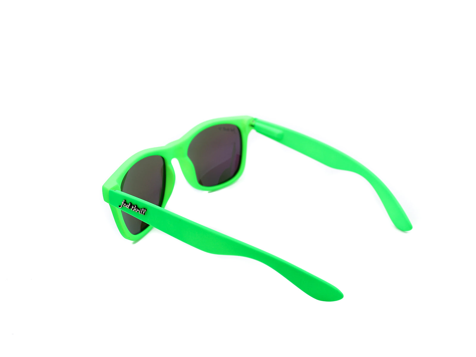 Fultons - Ryleighs: Matte Neon Green / Mirrored Green Polarized