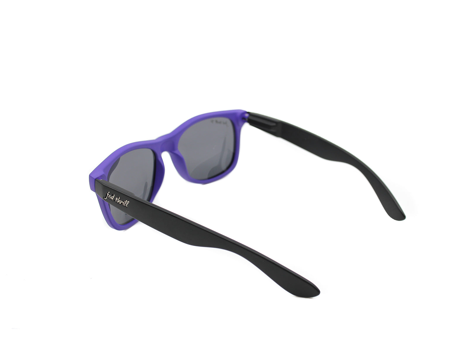 Fultons - Poes: Matte Purple / Black / Smoke Polarized