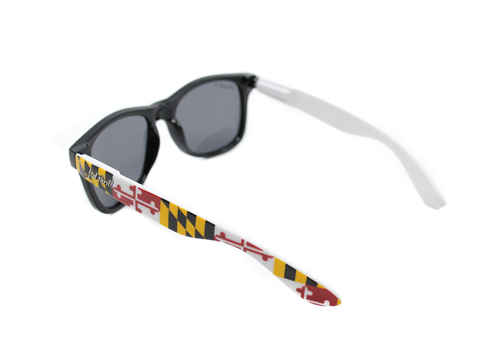 Fultons - Old Lines: Glossy Black / Glossy Maryland Flag / Smoke Polarized