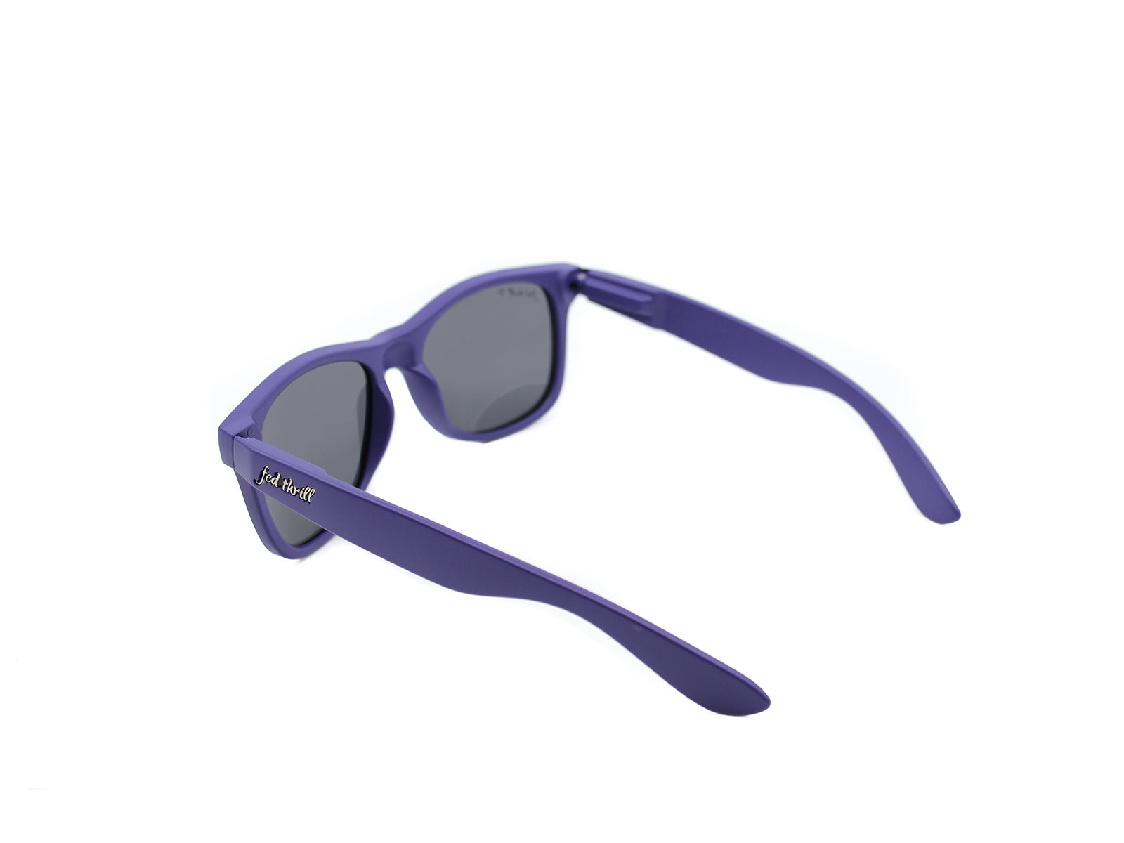 Fultons - Plums: Matte Purple / Smoke Polarized