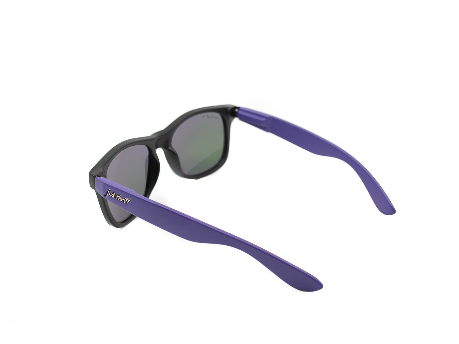 Fultons - Orchids: Matte Black / Purple / Mirrored Purple Polarized