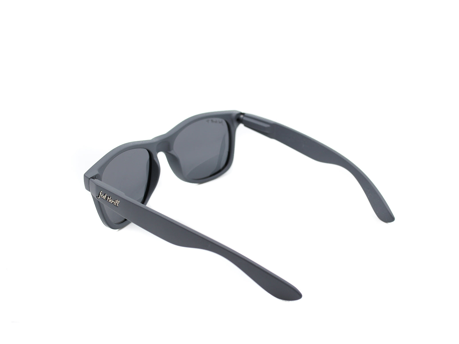 Fultons - Sage: Matte Gray / Mirrored Blue Polarized