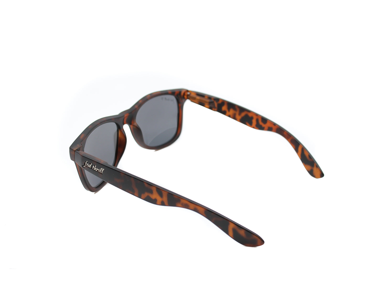 Fultons - High Tides: Matte Tortoise / Mirrored Purple Polarized