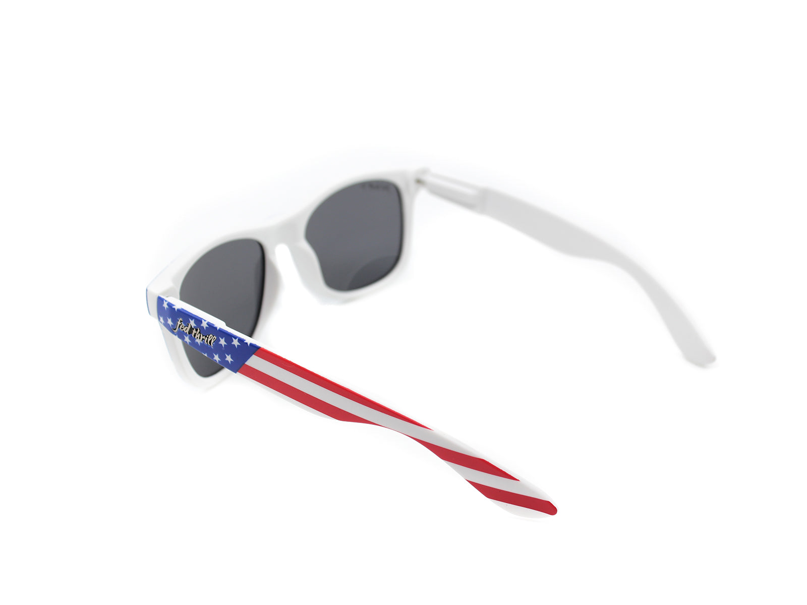 Fultons - O'Says: White / Matte USA / Smoke Polarized