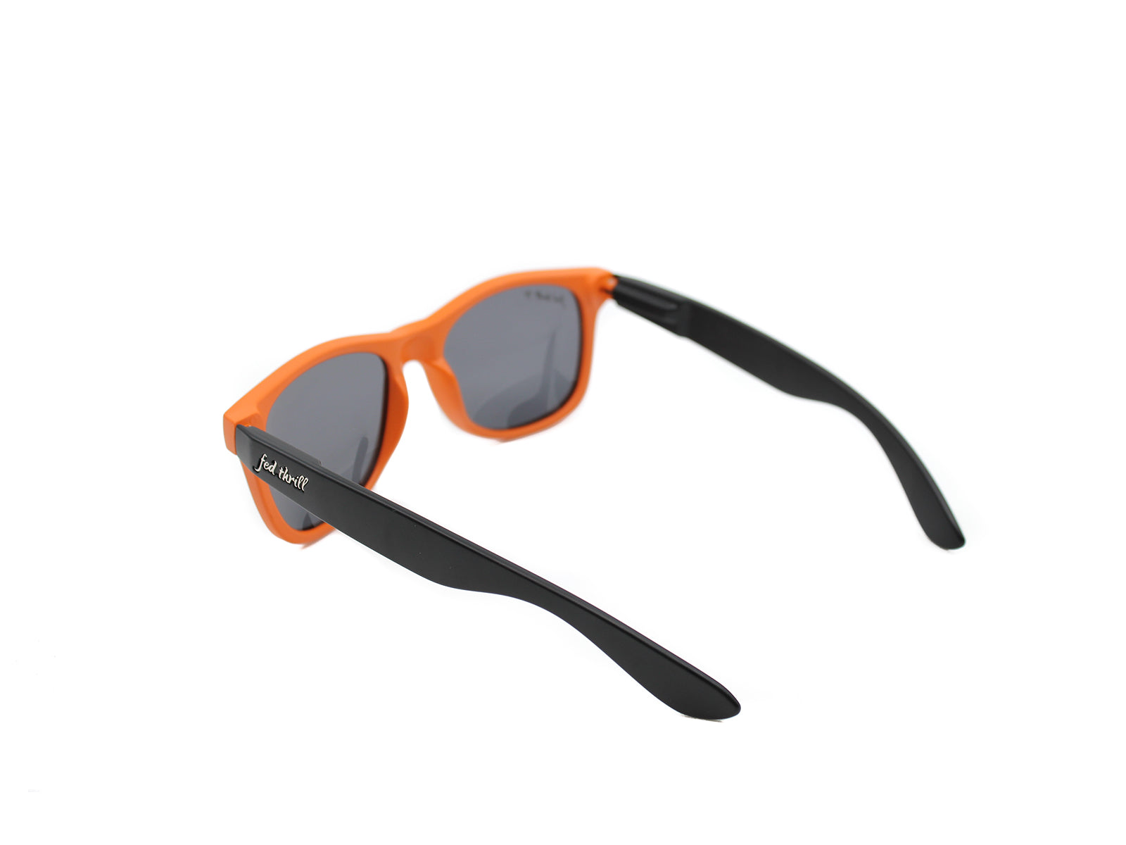 Fultons - Tigers: Matte Orange / Black / Smoke Polarized