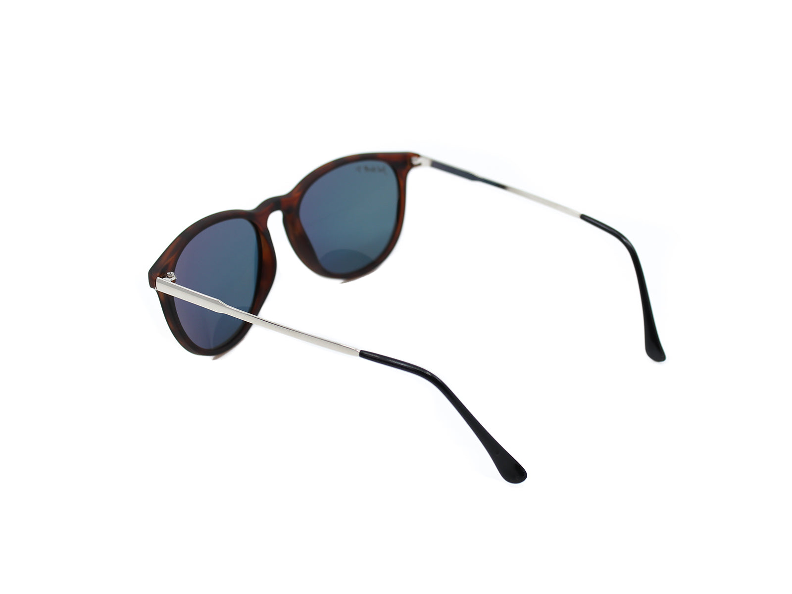 Porters - Hanovers: Black/ Mirrored Blue Polarized