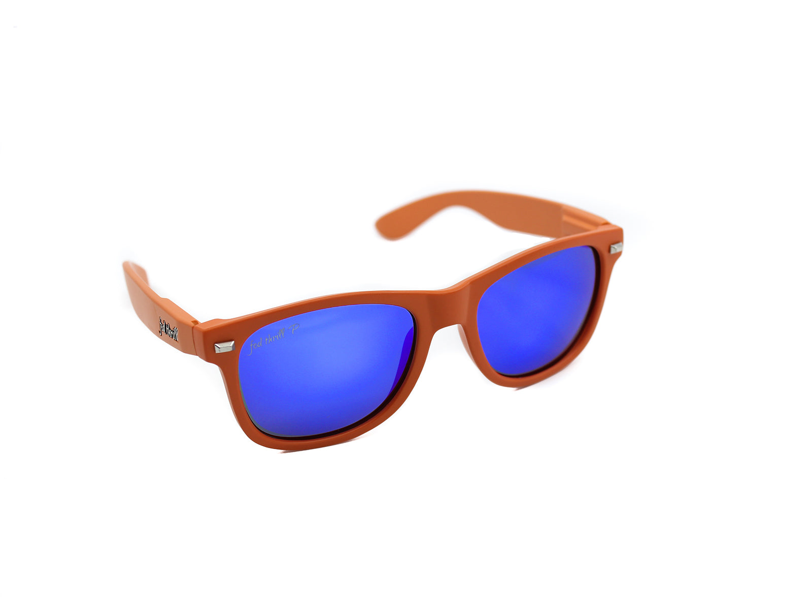 Fultons - Swamps: Orange / Mirrored Blue Polarized