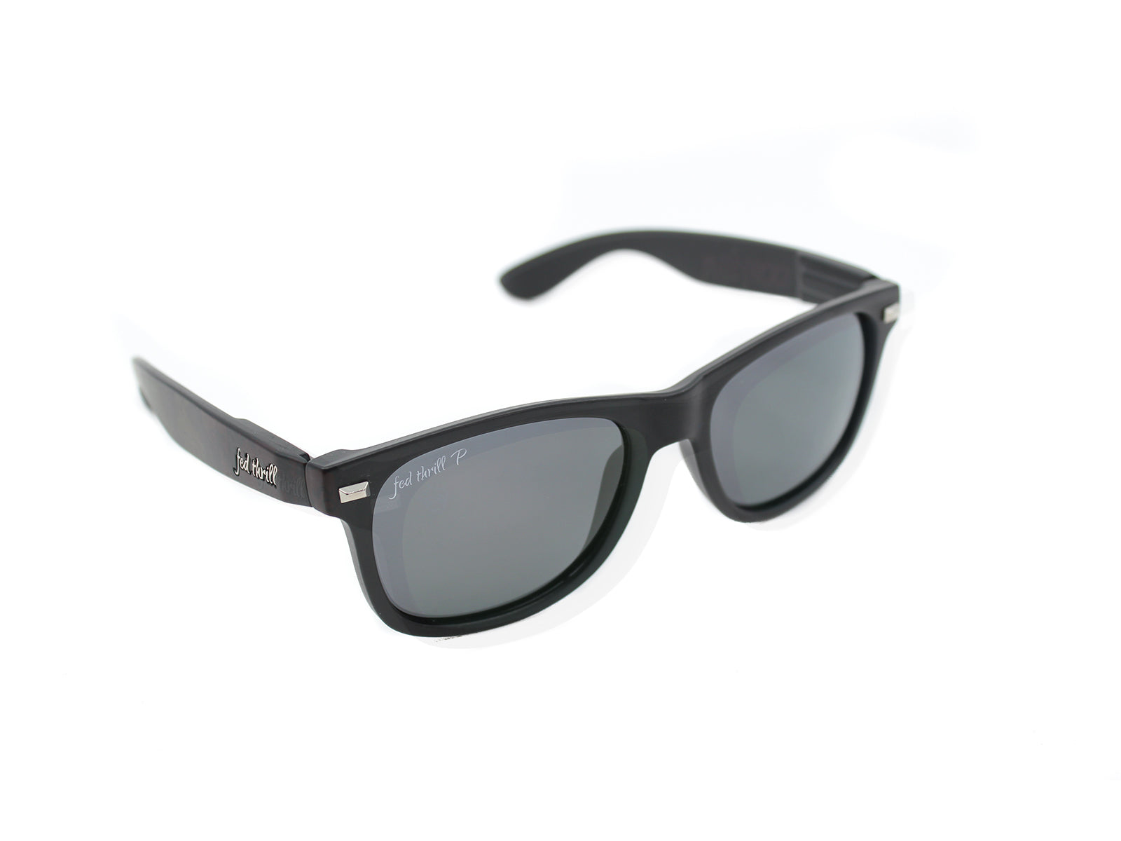 Fultons - Black Ops: Matte Black / Smoke Polarized