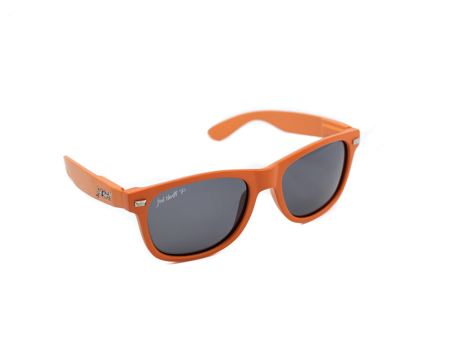 Fultons - Flocks: Matte Orange / Smoke Polarized