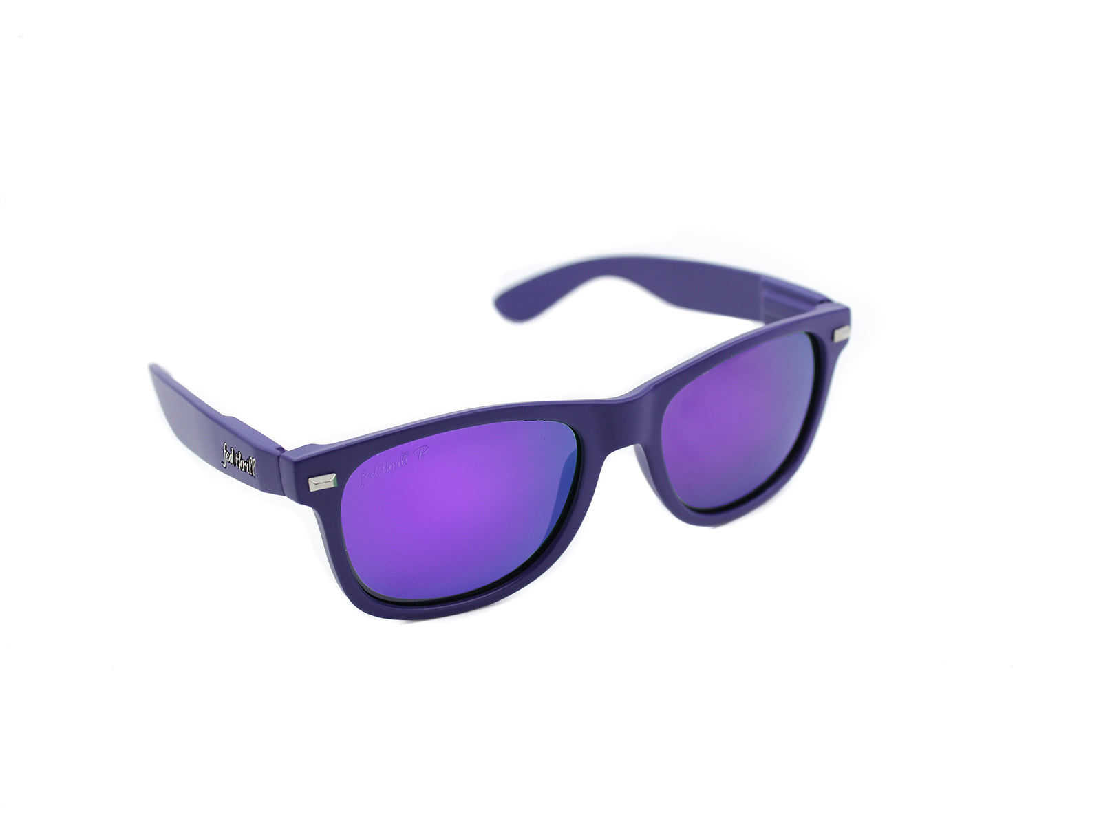 Fultons - Eggplants: Purple / Mirrored Purple Polarized