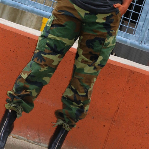 Vintage camo pants - Styling the Wardrobe
