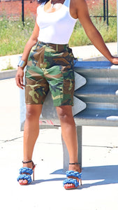 Classic Camo Shorts - Styling the Wardrobe