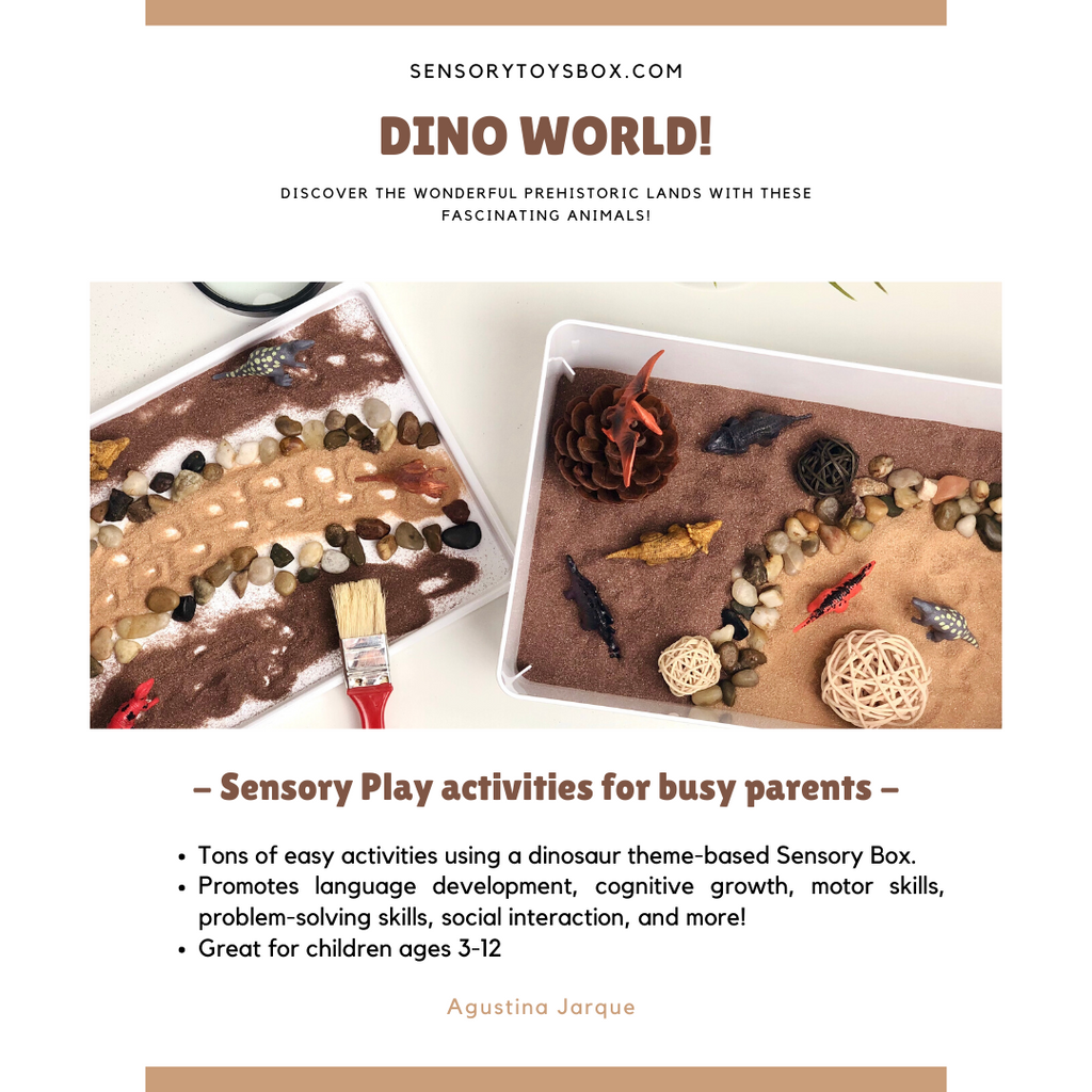 DinoWorld Activities - Sensory Play Ebook