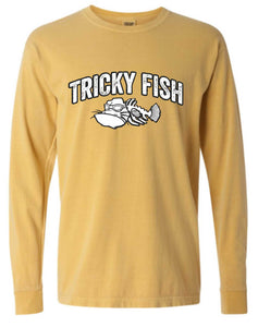 Long Sleeve Tee - Mustard