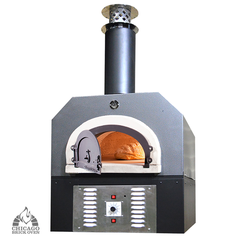 Gas Pizza Oven - Collection includes gas and wood-fired hybrid pizza ovens.