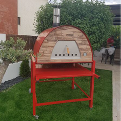 Maximus Prime and Arena Pizza Oven on a Cart