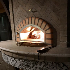 Authentic Pizza Oven Pizzaioli built into a wall