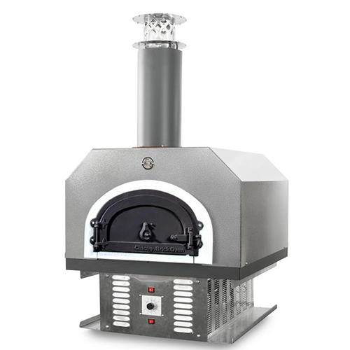 CBO-750 Hybrid Residential Build-in Countertop Gas and Wood-fired Pizza Oven