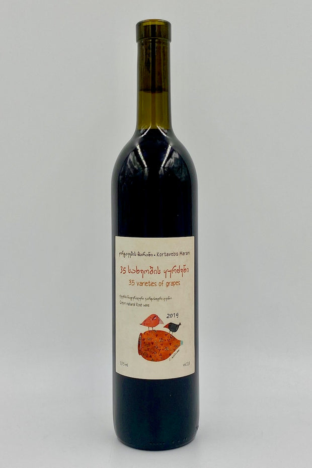 Kortavebis Marani, 35 Varieties of Grapes, Kakheti, Goergia, Field Blend, 2019