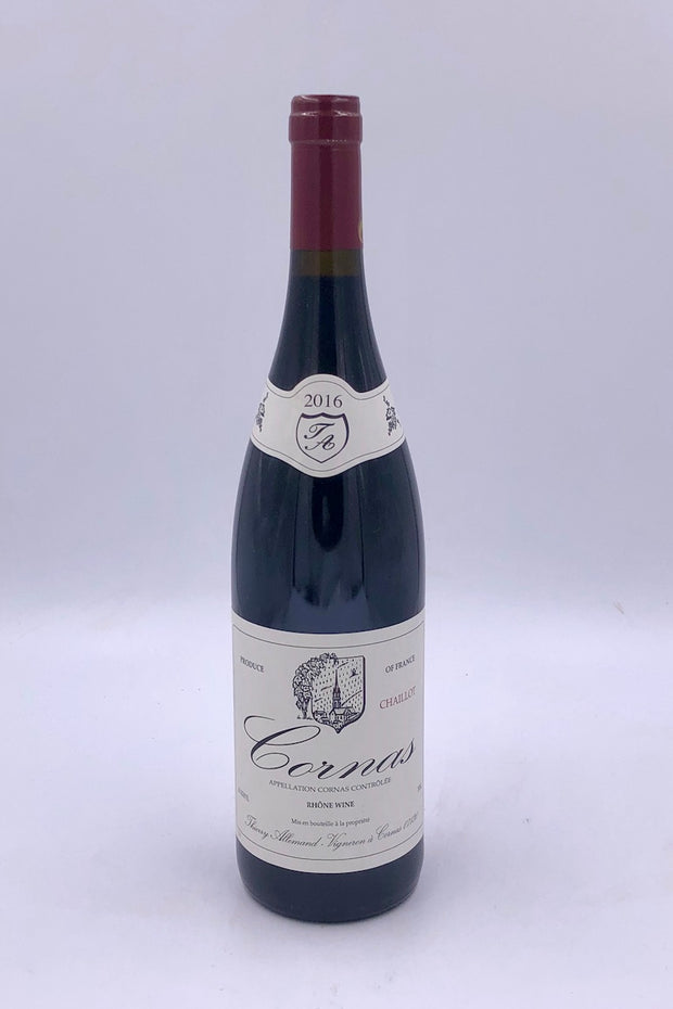 Thierry Allemand, Chaillot, Cornas, Syrah, 2016
