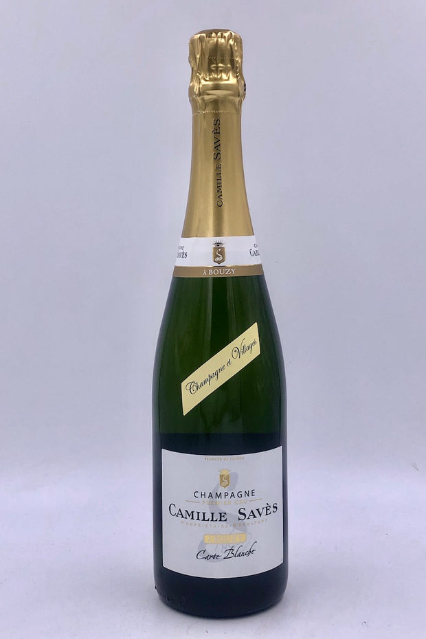 Camille Saves, Carte Blanche, Brut, Bouzy, Pinot Noir/ Chardonnay NV