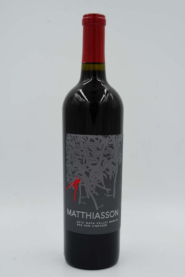 Matthiasson, Red Hen Vineyard, Oak Knoll, Napa Valley, Merlot, 2013