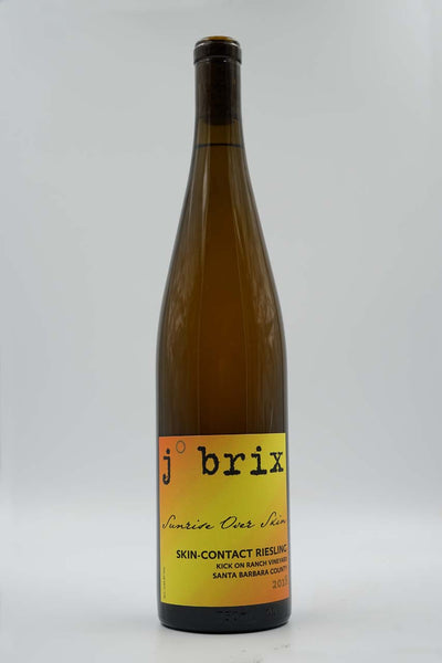 j. brix, Sunrise Over Skin, Kick On Ranch Vineyard, Santa Barbara County, California, Riesling, 2019