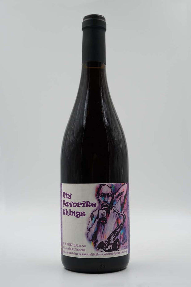 Le Debit d'Ivresse, My Favorite Things, Estagel, Roussillon, Grenache/Mourvedre, 2019