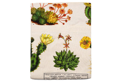 Vintage Cacti and Succulents Apron