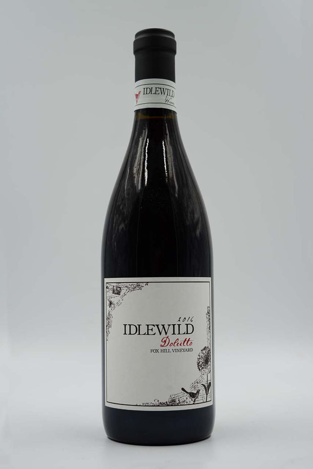 Idlewild, Fox Hill Vineyard, Mendocino County, Dolcetto, 2016