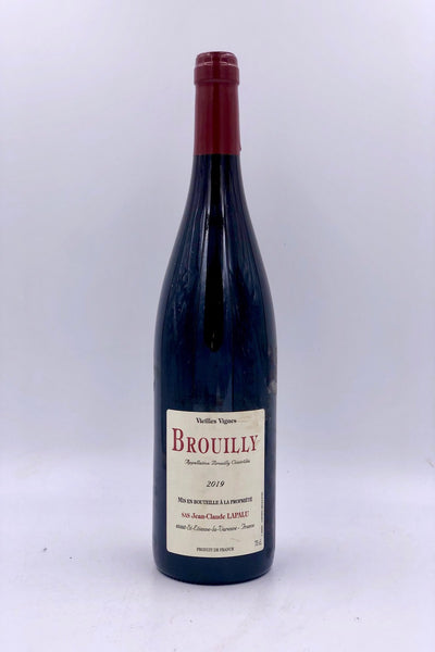 Jean-Claude Lapalu, Vielles Vignes, Brouilly, Gamay, 2019