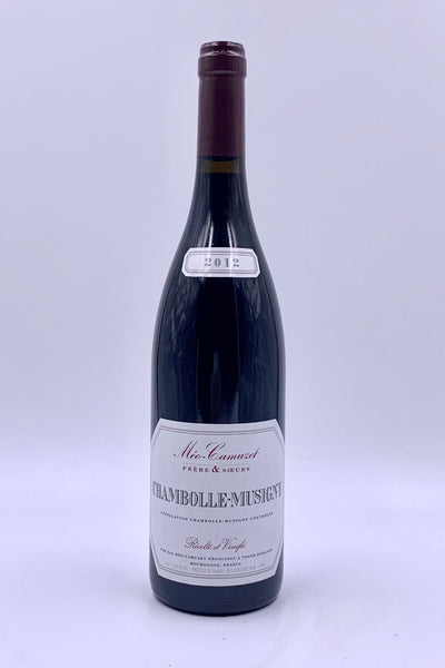 Meo-Camuzet, Chambolle-Musigny, Pinot Noir, 2012