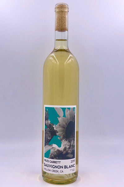 Miles Garrett, Willow Creek, Humboldt County, Sauvignon Blanc, 2018
