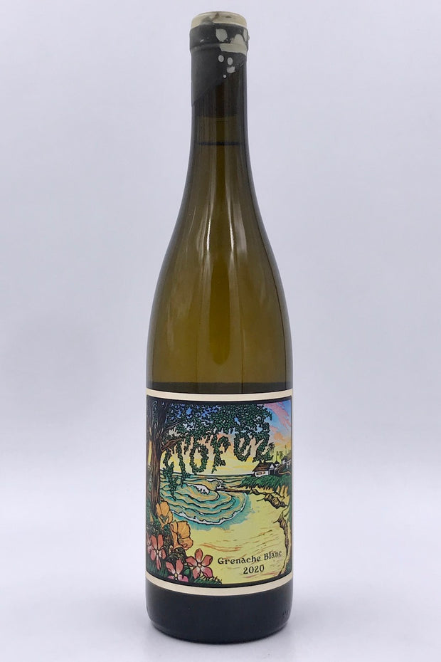 Florez Wines, White Rhino, Santa Cruz Mountains, Grenache Blanc, 2020