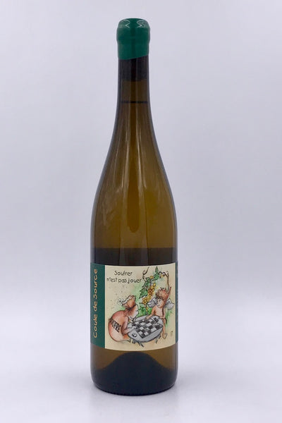 Jerome Lambert, Coule de Source, Vin de France, Chenin Blanc, 2017
