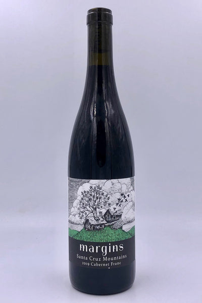 Margins Wine, Santa Cruz Mountains, Cabernet Franc, 2019